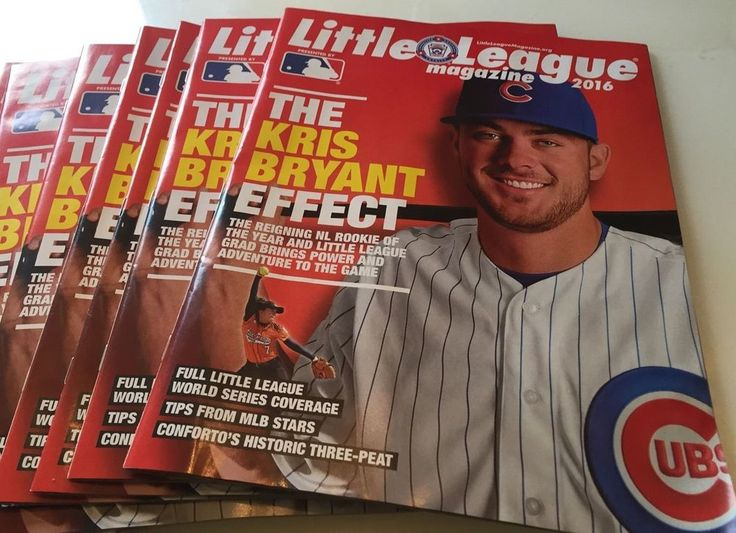 KRIS BRYANT 2016 Little League Baseball Magazine World Series Chicago Cubs