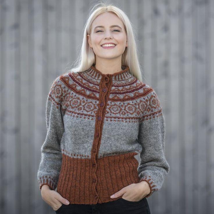 Herborg jakken - Redd Barna strikkepakke (L/XL)