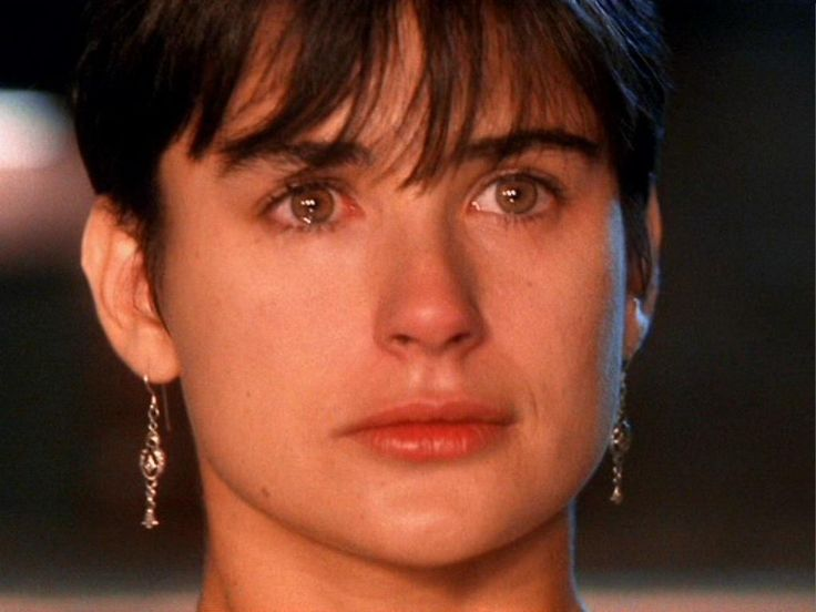 Demi Moore Ghost . Love Those Earrings. And Seriously, How Beautiful Is She?