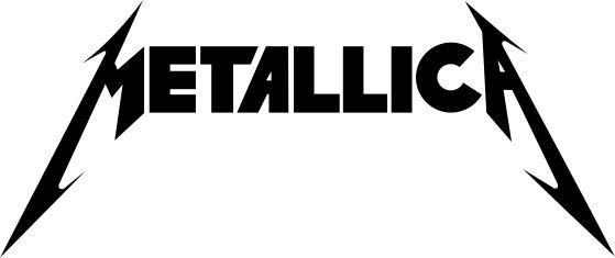 metalica logo preto e branco - Pesquisa Google