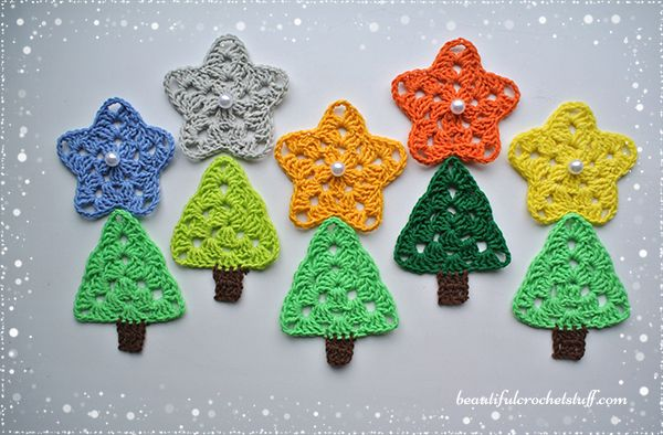 Crochet Christmas Tree Free Pattern