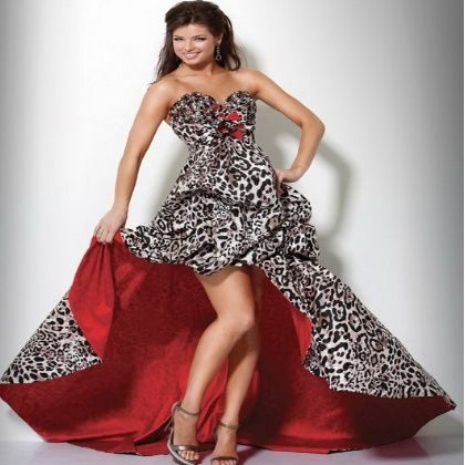 Five Zebra Print Prom Dress Styles  Fashion styles and trends