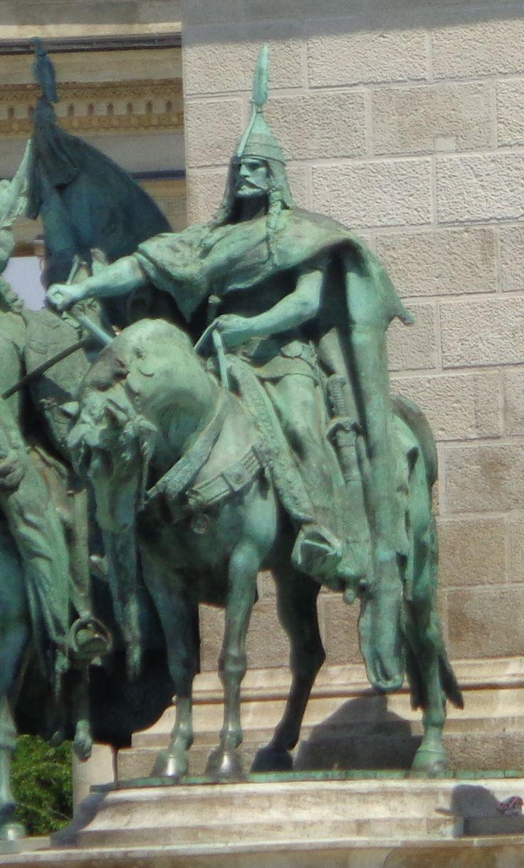 Árpád fejedelem szobra Budapest, Magyarország