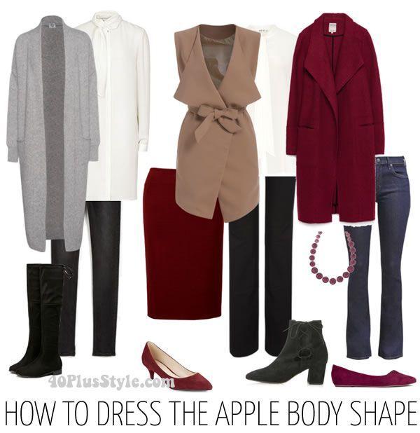 Throwback Thursday: how to dress for an apple shape plus asymmetrical clothing!