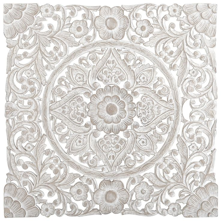 White Carved Wall Decor | Pier 1 Imports
