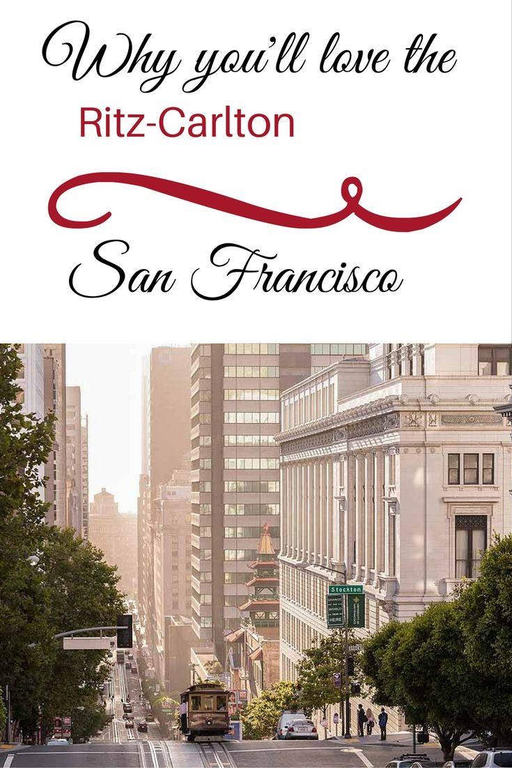 San Francisco Map Ritz Carlton%0A RitzCarlton San Francisco Club Level