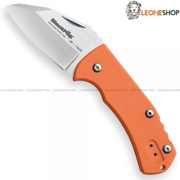 Coltello Chiudibile NIDHUG Slipjoint BLACK FOX Knives Italia, coltelli pieghevoli chiudibili con lama in acciaio inox 440C di altissima qualità con finitura Satinata e Stone Washed - HRC 57/59 - Lunghezza lama 7 cm - Spessore 3 mm - Manico costruito in G10 Arancione - Sistema di chiusura Slipjoint - Clip reversibile - Lunghezza totale 16,5 cm - Mikkel Willumsen Design - Un coltello chiudibile BLACK FOX Knives Italia davvero eccezionale con materiali di prima scelta...