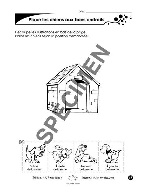 Orientation spatiale - Éditions de l'Envolée