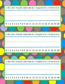 Use these Polka Dot Name Plates to brighten up your classroom!  They are easy to use - just print them off and write in students' names!  And the best thing ... they are FREE! :)Matching Products:2014-2015 Polka Dot Teacher PlannerPolka Dot Name Plates {EDITABLE}