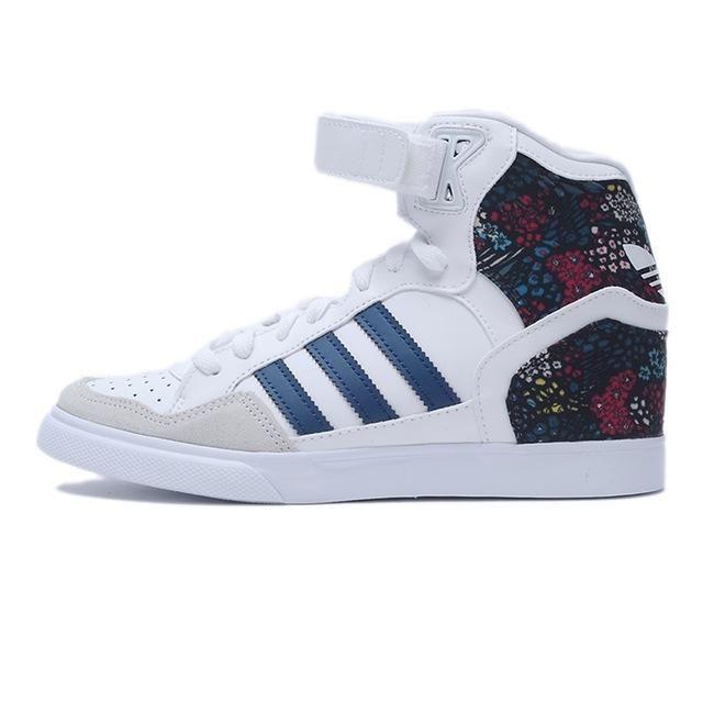 Original Adidas Originals Women\u0027s High Top Skateboarding Shoes Sneakers