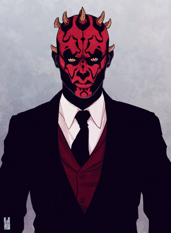 """Dressing Well Is The Best Revenge."" — Kim Nguyen a.k.a. Zarnala via techgnotic on #DeviantArt #DarthMaul"