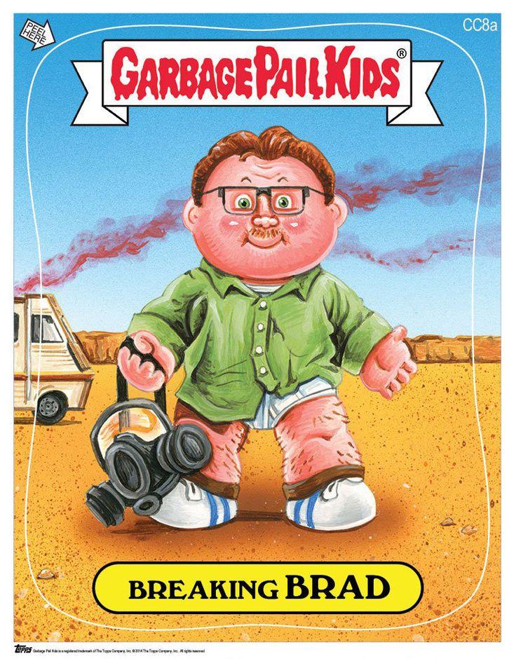 Garbage Pail Kids Comic Con Exclusive - Breaking Brad