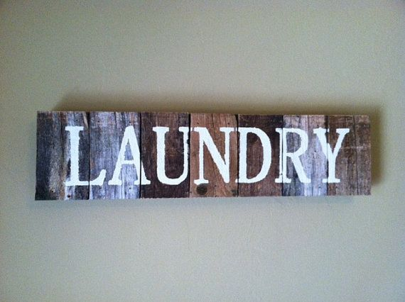 Rustic Laundry Sign 17 Best Signsbathroom & Laundry Images On Pinterest  Wooden