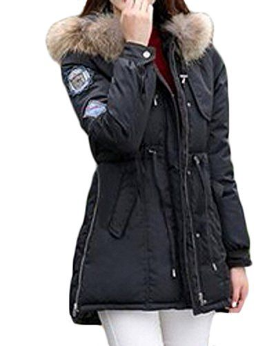 ZANZEA Damen Winter Warm Daunenjacke Parka Jacken