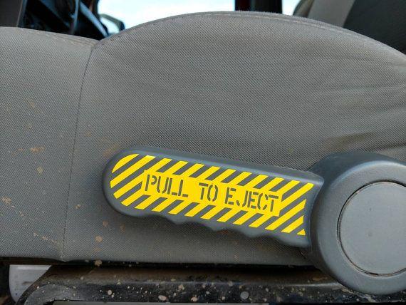 Jeep Wrangler JK/JKU Schleudersitz ziehen Sie zum Auswerfen