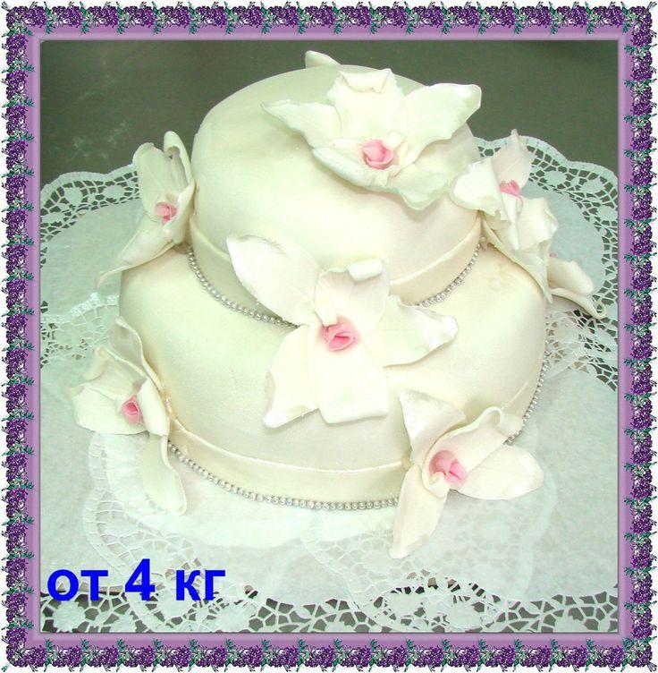 Марципановый торт на 23 февраля