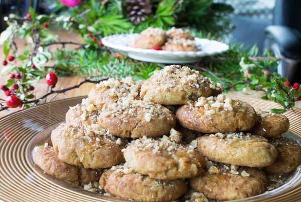 Amazing Greek Honey Cookies (Melomakarona)