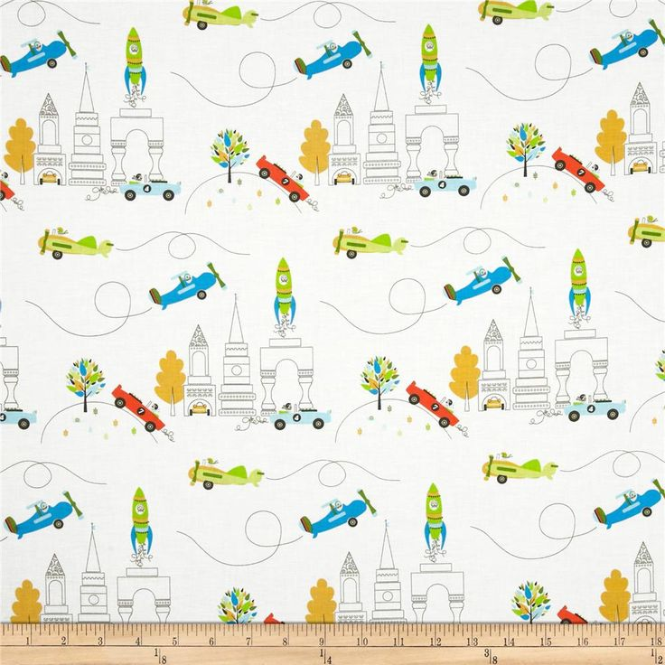Michael Miller Soft Top Les Monsieurs En Ville from @fabricdotcom  Designed by Tamara Kate for Michael Miller Fabrics, this cotton print is perfect for quilting, apparel, crafts, and home décor items. Colors include white, brown, blue, green, yellow,and clementine.