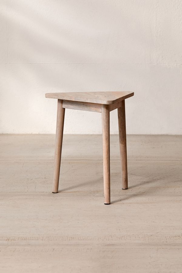 Modular Triangle Side Table In 2020 Table Triangle Coffee Table