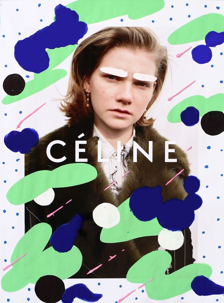 Céline x Andreea Robescu on Behance