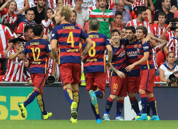 Reacció de campió malgrat les lesions i la falta de ritme.  #LeoMessi #Suarez #Supercopa #Barça #Futbol #LligaBbva #Esport #FCB #Lliga