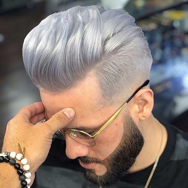 16 Coole Frisuren Männer Undercut Grau | Coole frisuren