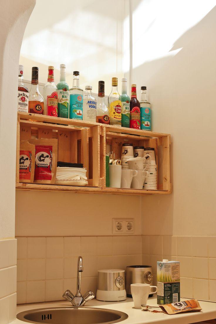 9 best Möbel aus Paletten und Weinkisten images on Pinterest ...