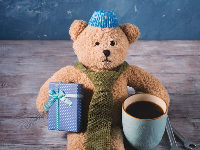 Daddy teddy bear by Life Morning Photography on @creativemarket