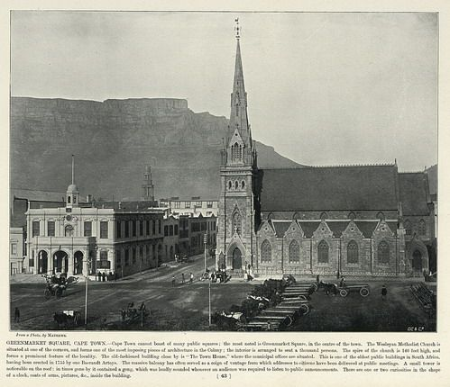 Greenmarket Square, Cape Town | South Africa by The National Archives UK