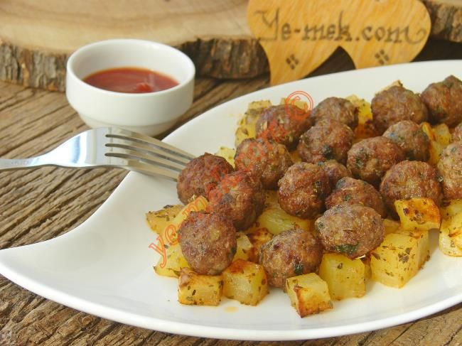 Firinda Patates Köfte Resimli Tarifi - Yemek Tarifleri