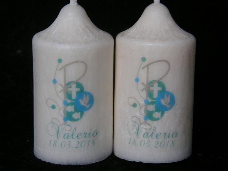 Baptism Favour Candle PAX