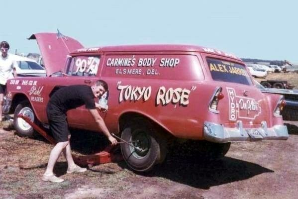 "prova275: "" Tokyo Rose… sedan delivery stocker """