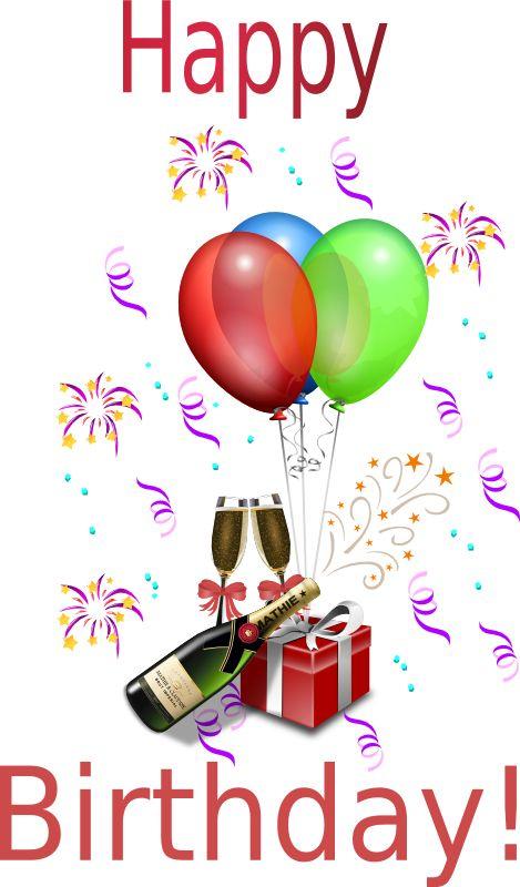 HAPPY BIRTHDAY -  Champagne