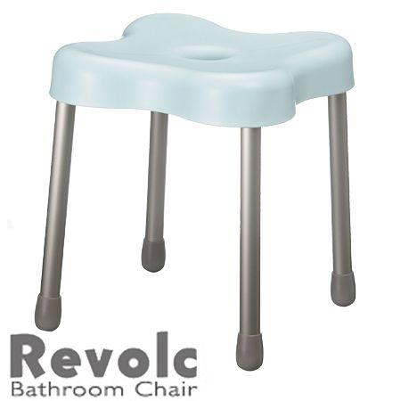 Revolc 風呂イス シャワーチェア バスチェアー Sサイズ 高さ32cm ブルーグリーン イス 椅子 いす チェア チェアー スツール 風呂 バス 約 幅28×奥行28×高さ32(cm) DIY おしゃれ インテリア 家具 インテリア家具 雑貨 小物 家 ハウス ホーム リビング 通販 楽天 21K