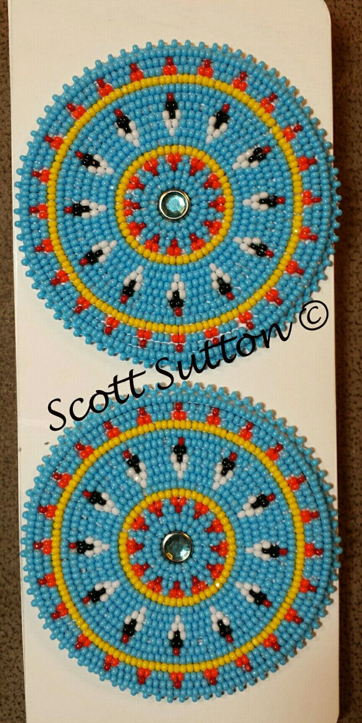 519 Best Images About Beaded Rosettes Medallions On