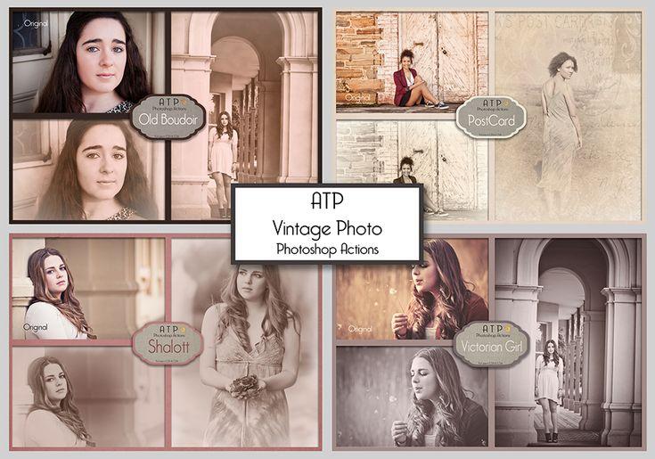 ATP Vintage Photoshop Actions by AllThingsPrecious.deviantart.com on @DeviantArt