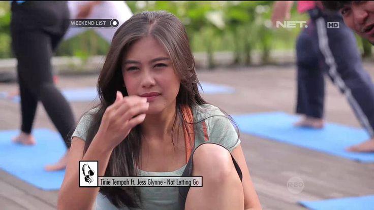 Shinta & Marsya yoga dan Outbond di Padma Hotel Bandung