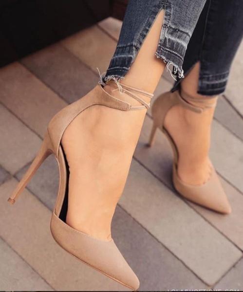 Frauenkleidung – Frauen Schuhe High Heels Pumps Sandalen Mode Casual Schuhe #Cas…