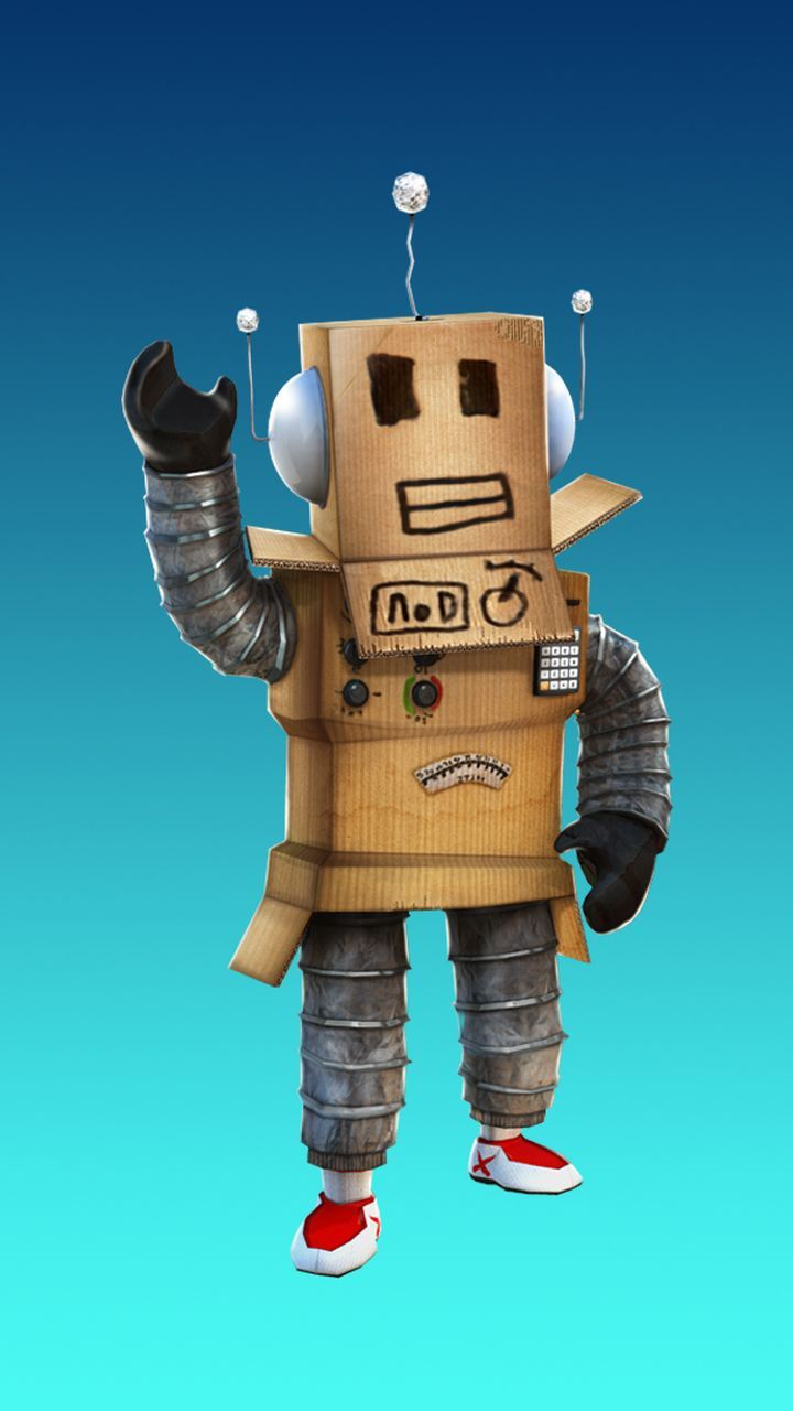 Robot Character In Roblox Game Mobile Background Image Robot
