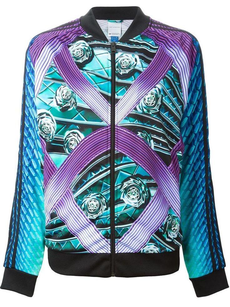 Adidas Women's Mary Katrantzou Tracktop Track Jacket #AdidasMaryKatrantzou #TrackJacket