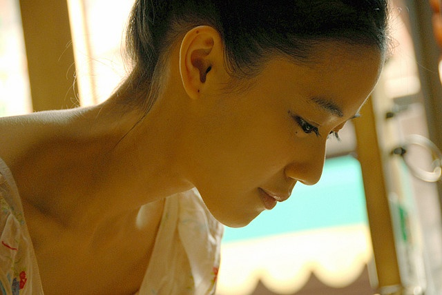 Aoi Yu  Her Neck!