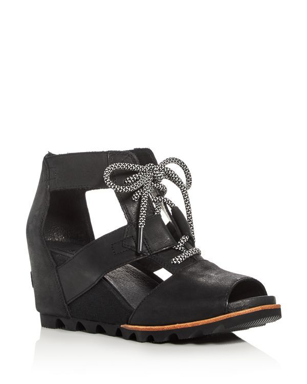 Sorel Joanie Lace Up Wedge Sandals