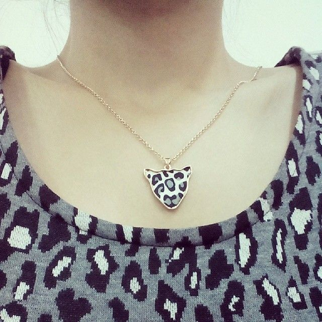 i love leopard... #today  #me #combin #leopard #white #and #black