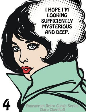 """Comic Girls Say.. """"I hope I'm looking sufficiently mysterious and deep.""""  #Comic #vintage #popart"""