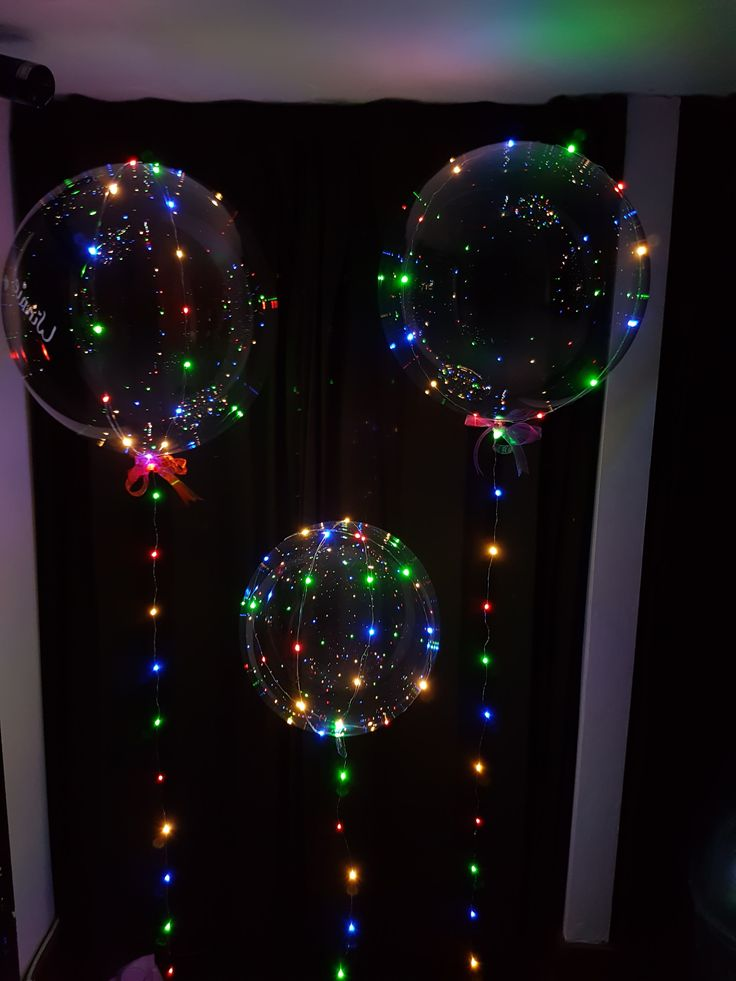awesome new LED bubble balloons come with multi coloured or plain white lights available to order now