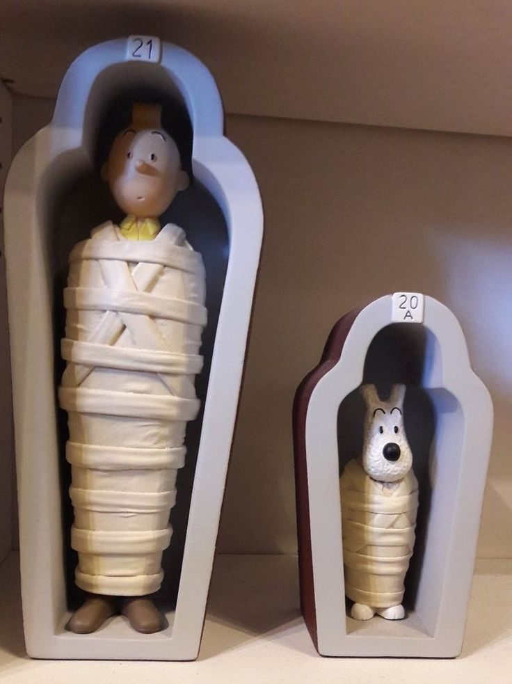 TINTIN & MILOU sarcophage 40 Ex - ST EMETT- tres rare no leblon no aroutcheff