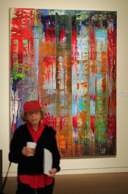 Gerhard Richter Squeegee Paintings