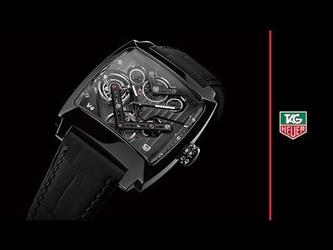 TAG Heuer Monaco V4 Tourbillon  THE EVOLUTION OF THE V4 REVOLUTION 2004-2014: Celebration of the V4's 10th Anniversary From the world's first watch driven by belts to the world's first tourbillon DRIVEN by belts A decade on, TAG Heuer's breakthrough V4 technology continues to astound (Video) (See more at En/Fr/Es: http://watchmobile7.com/articles/tag-heuer-monaco-v4-tourbillon) (1/6) #watches #montres #relojes #tagheuer #monacov4tourbillon @TAG Heuer