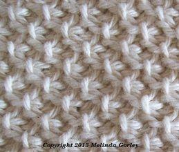 Tunisian moss stitch.  Plus other tunisian variations