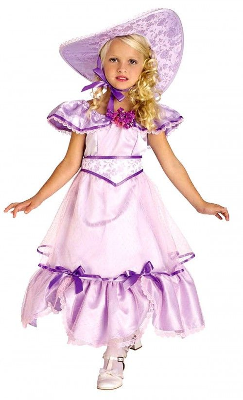 Purple Southern Belle Costume